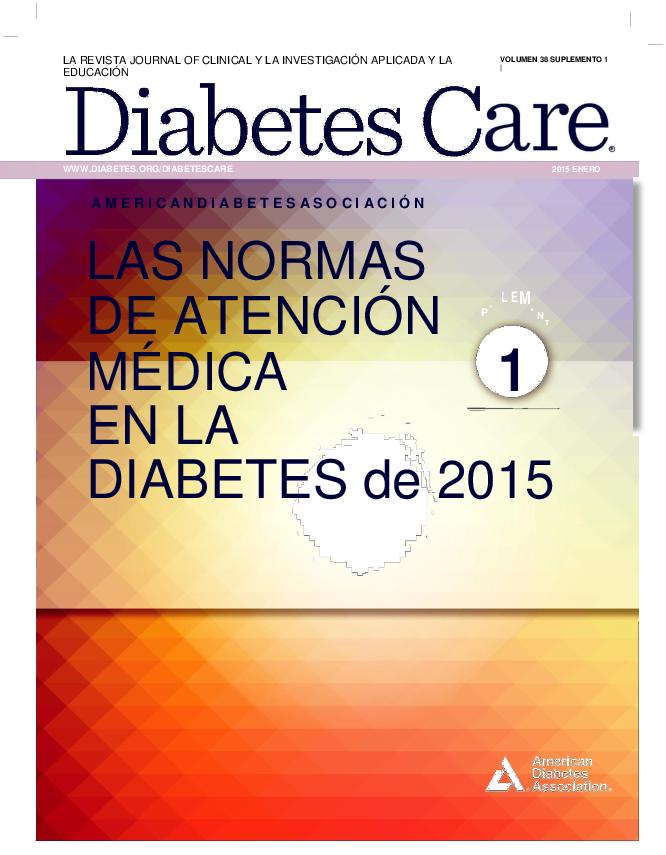 pautas de la asociación americana de diabetes para el cribado de diabetes