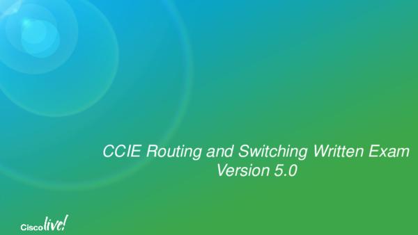 PDF) 400-101 CCIE R&S Written Exam certification programs | Walgreen