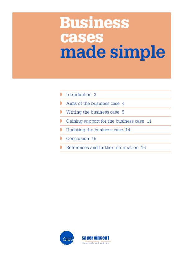 PDF) Business Cases made simple | Jaarno Saarinen - Academia edu