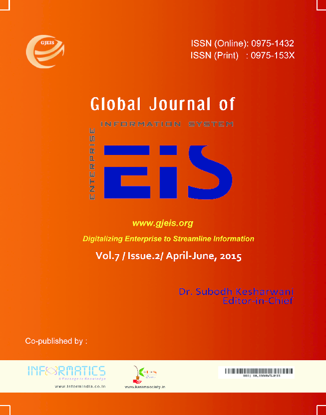 PDF) GJEIS -Volume -7 Issue-2 Apr-June 2015 | Editor-In