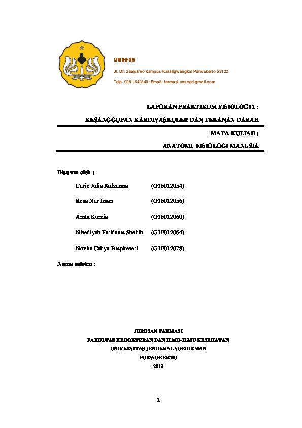 PDF) Laporan-praktikum-fisiologi-1-kesanggupan-kardivaskuler