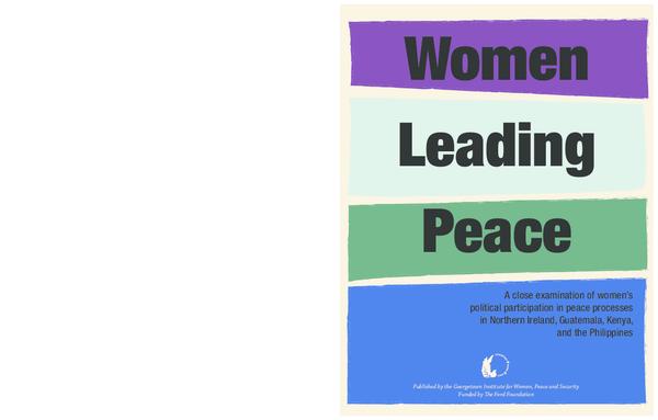 PDF) Women Leading Peace | Patty Chang - Academia edu