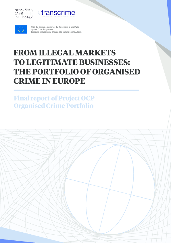 PDF) From Illegal Markets to Legitimate Businesses: The