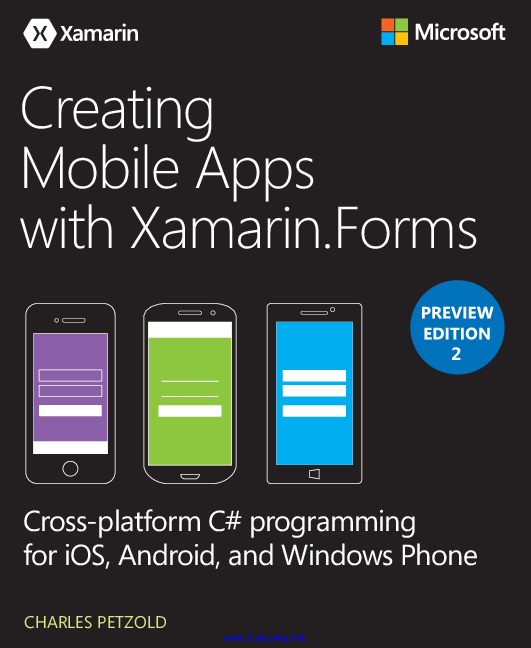 PDF) Creating Mobile Apps with Xamarin Forms, Preview