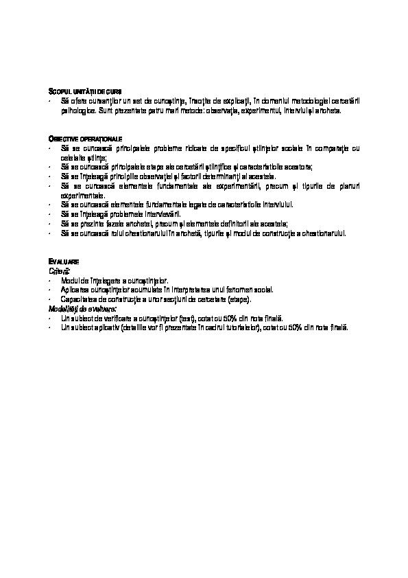 metoda de cercetare a viziunii subiective viziune linie dreaptă ondulată