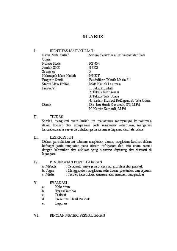 Doc 5 Rt454 Sistem Kelistrikan Refrigerasi Dan Tata Udata 1
