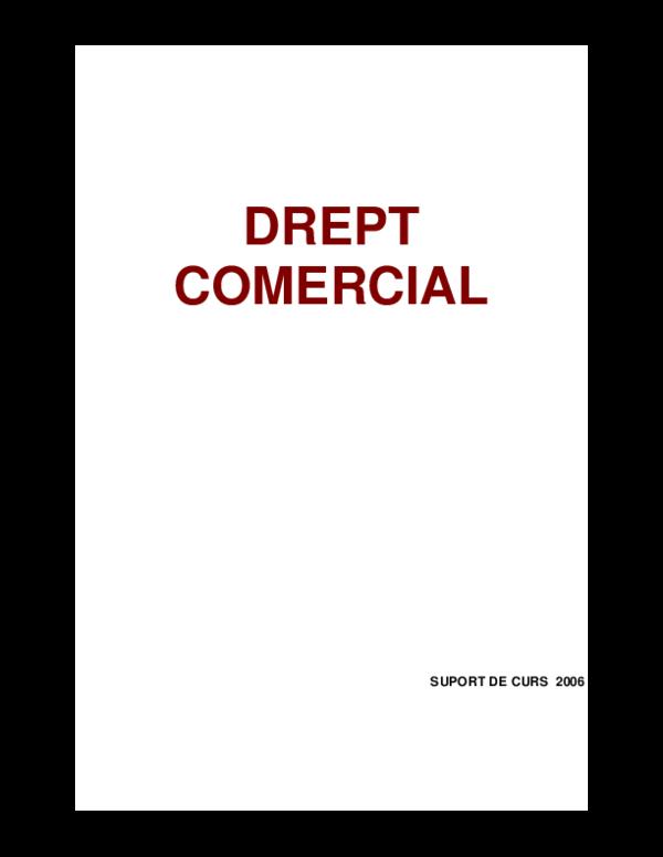 Dispozitii legale in practicile comerciale