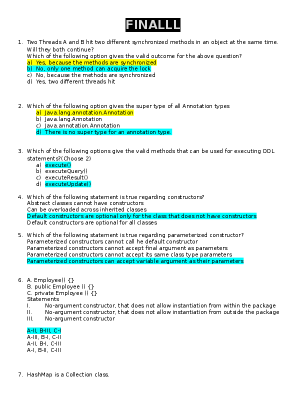 Employee Class Java