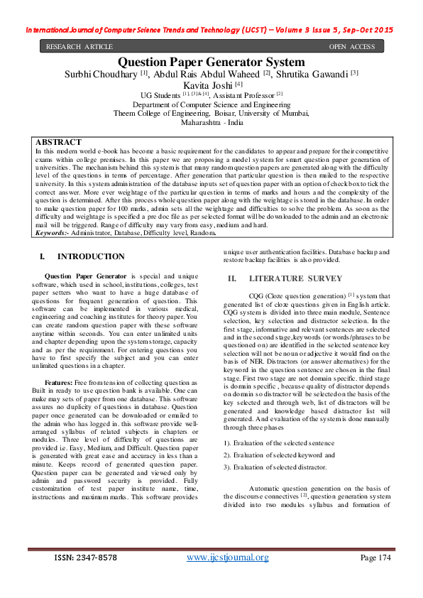 research paper generator download