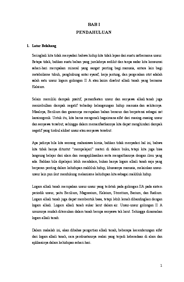 Doc Makalah Alkali Tanah Diana Ulfa Academia Edu
