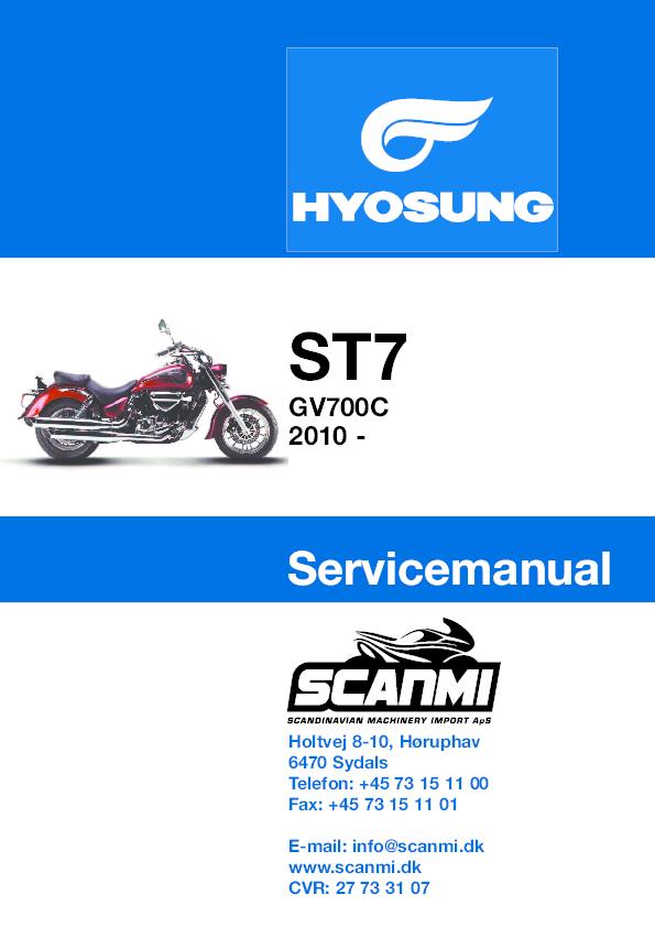 PDF) SHOP MANUAL HYUSON ST7 GV700C | raul verdugo hernandez