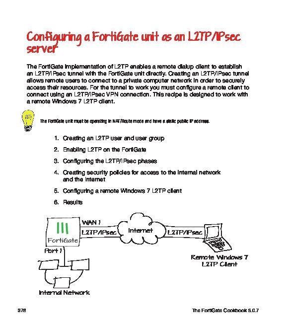 PDF) Configuring-a-Forti Gate-unit-as-an-L2TP-IPsec-server | Luis