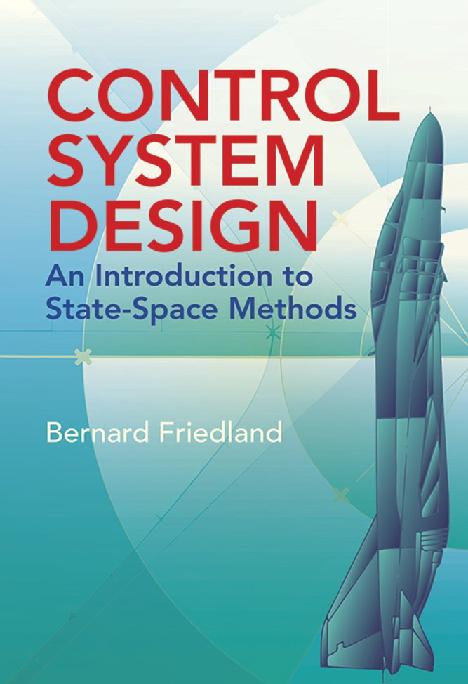 Pdf Control System Design An Introduction To State Space Methods Bernard Friedland Dover Publications Ulises Modesto Academia Edu
