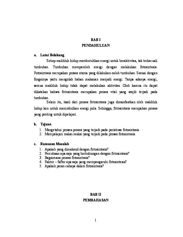 Doc Makalah Klp 3 Fotosintesis Irman Sanjaya Academia Edu