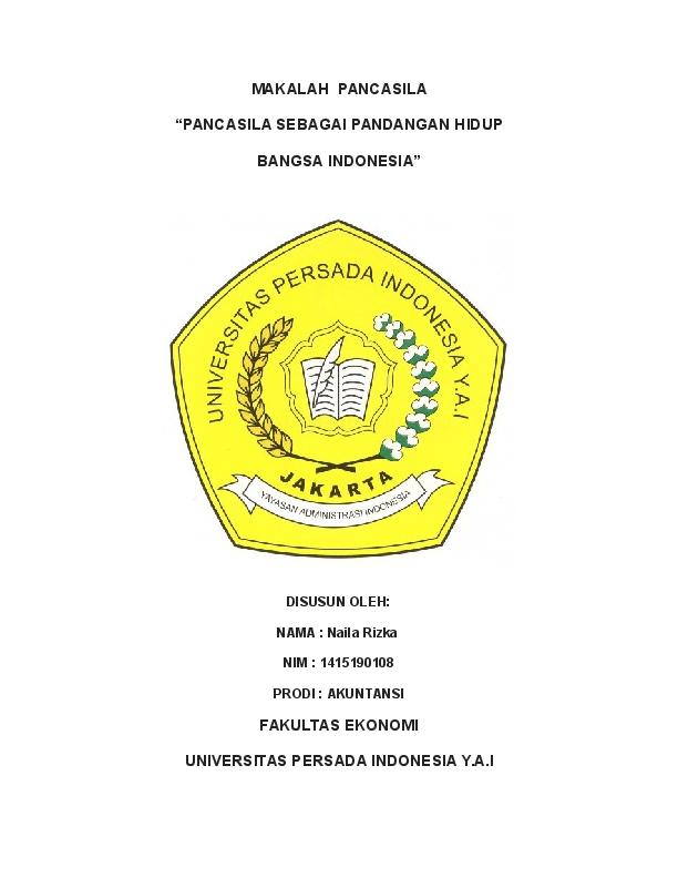 Doc Makalah Kuliah Pkn Ririz Cantik Academia Edu