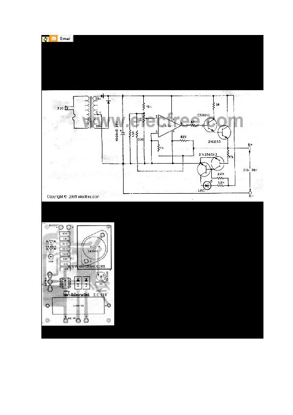 DOC) 0-30v variable power supply with LM741   Carlos Molina