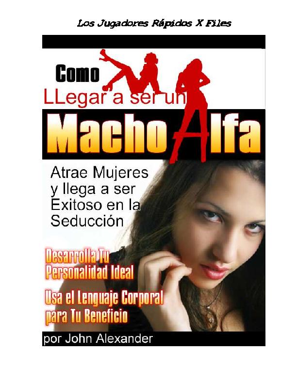 macho alfa libro completo pdf gratis