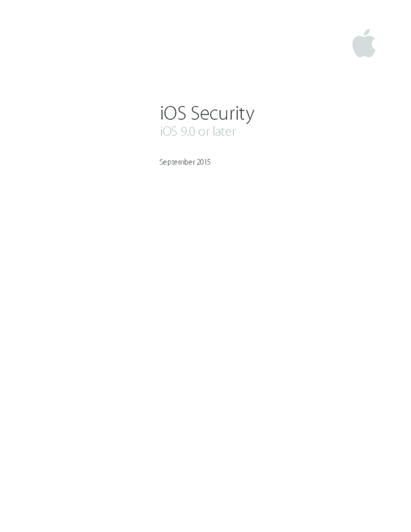 PDF) I OS Security Guide | Sam Meier - Academia edu