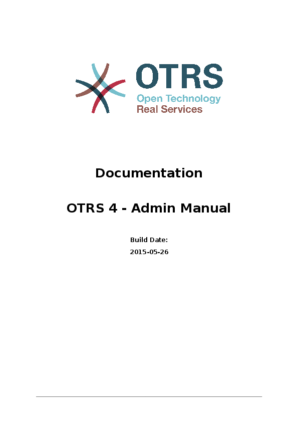 PDF) Otrs admin book | antonio rodriguez - Academia edu