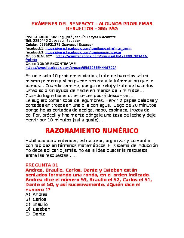 EXAMEN Resuelto del SENESCYT 365 paginas  2dbc14a60e6