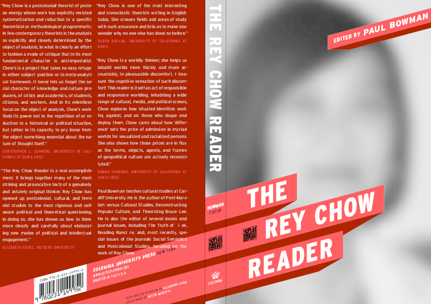 The Rey Chow Reader Paul Bowman Academia