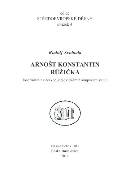 Pokyny pro autory jsou na webových stránkách UK HTF: při zachování episkopálního úřadu a relativizaci monarchického státu rakous- kého při.