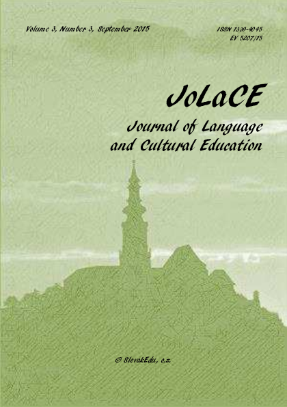 PDF) Journal of Language and Cultural Education 2015/3