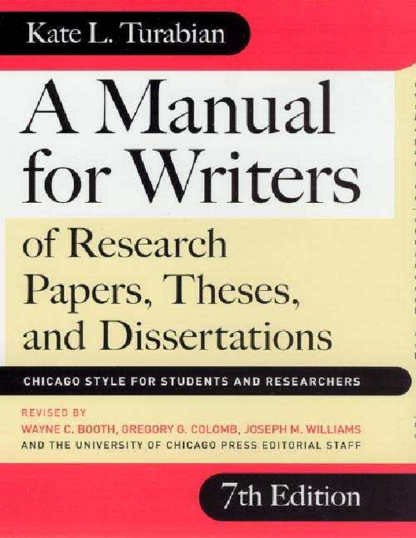 PDF) 150850045-a-manual-for-writers-of-research-papers