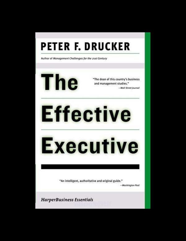Effective pdf the executive