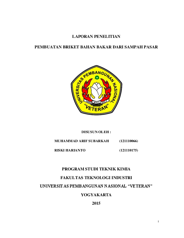 Pdf Laporan Penelitian Riski Harianto Academia Edu