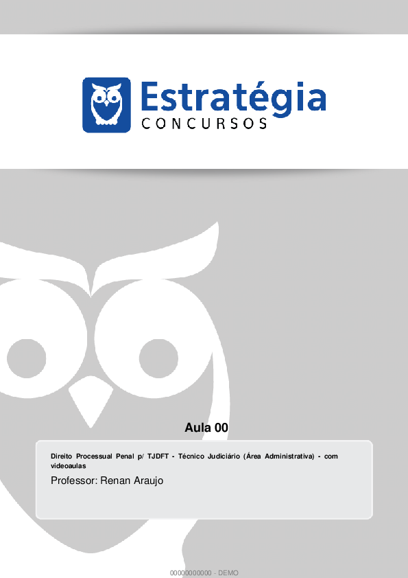 Processual penal pdf direito