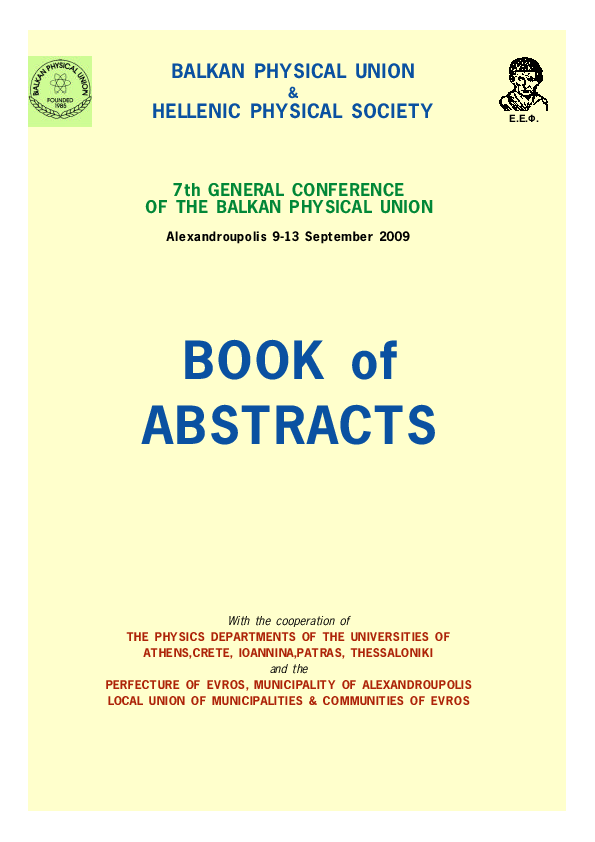 PDF) Deformation Behaviour of Nanocrystalline Al Alloy