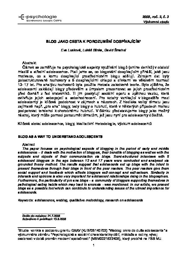 seznamování příklady předmětu