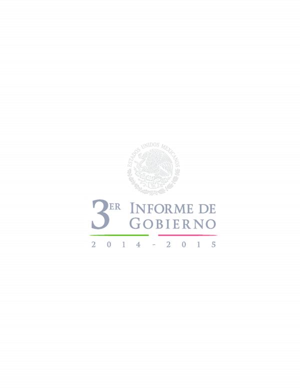 Pdf Tercer Informe De Gobierno Martha Mateos Academia Edu