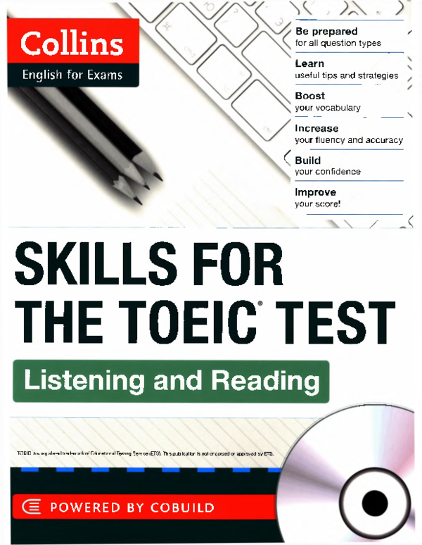 PDF) Skills for the TOEIC Test Listening and Reading | Nguyễn Thị Lệ
