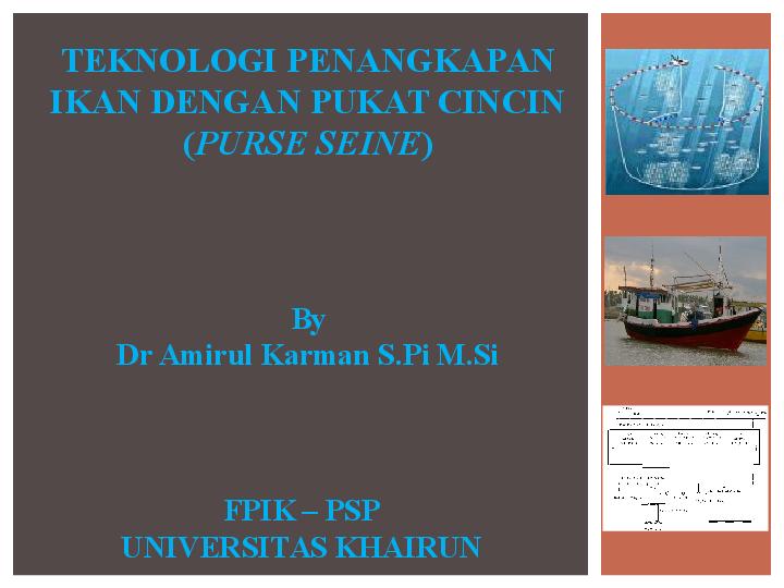 Alat Tangkap Purse Seine Ebook Download