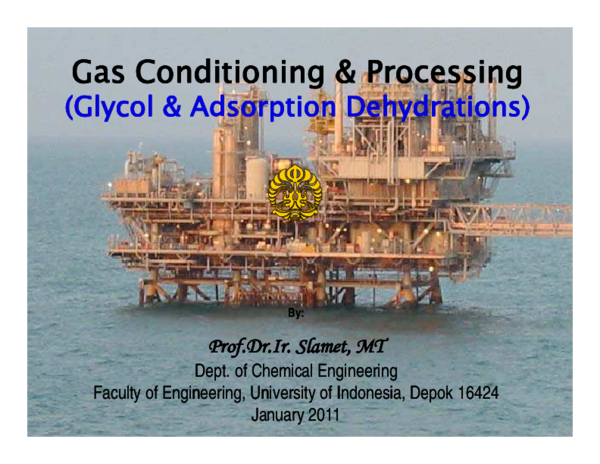 Gas Conditioning And Processing Pdf