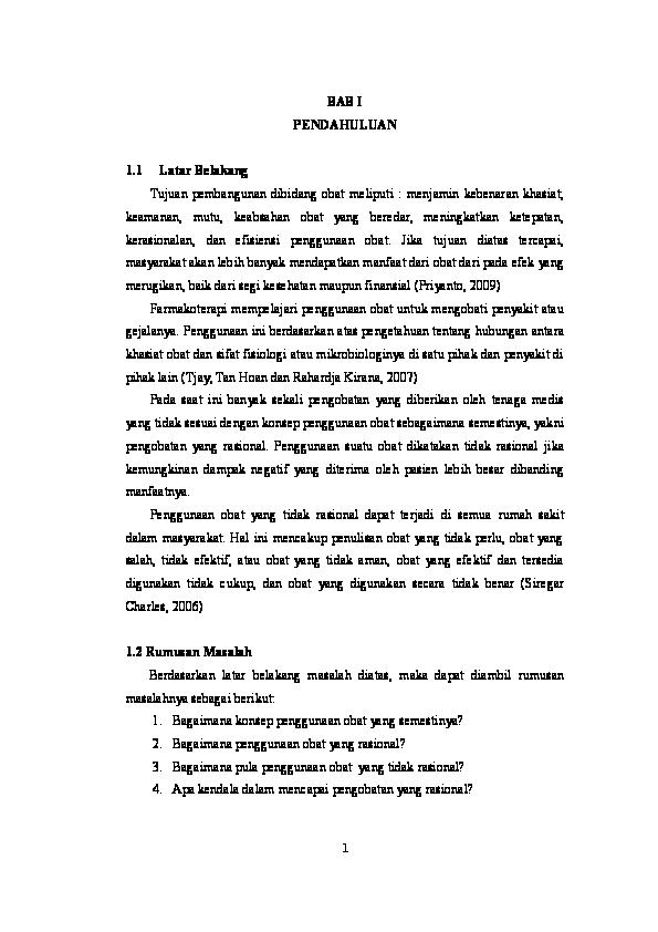 Doc Konsep Penggunaan Obat Aullyha Bisquit Academia Edu