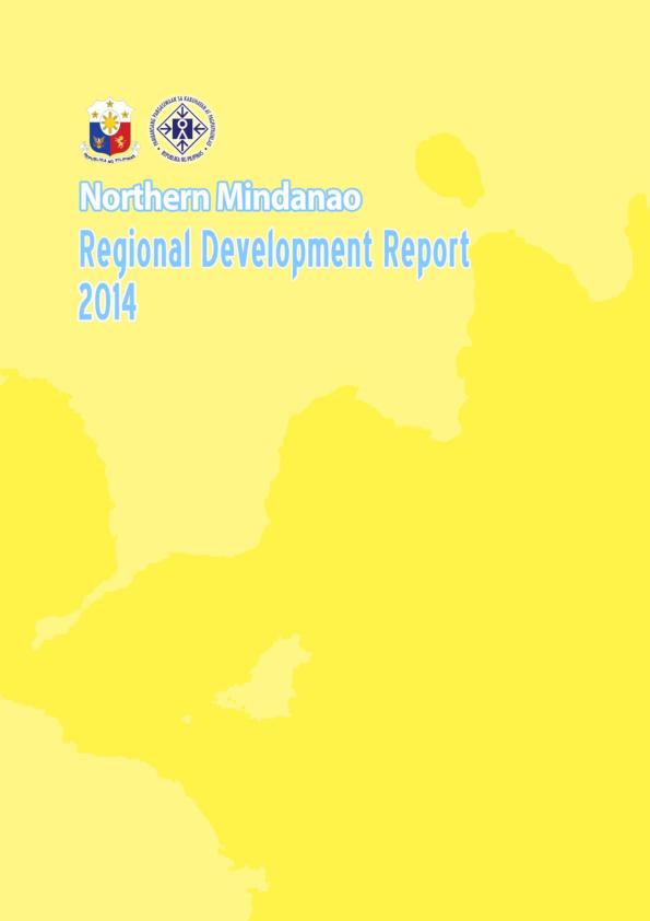 PDF) Northern Mindanao Regional Development Report 2014   Dr