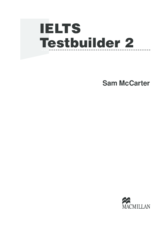 PDF) IELTS Testbuilder 2 | Bu Nguyen - Academia edu