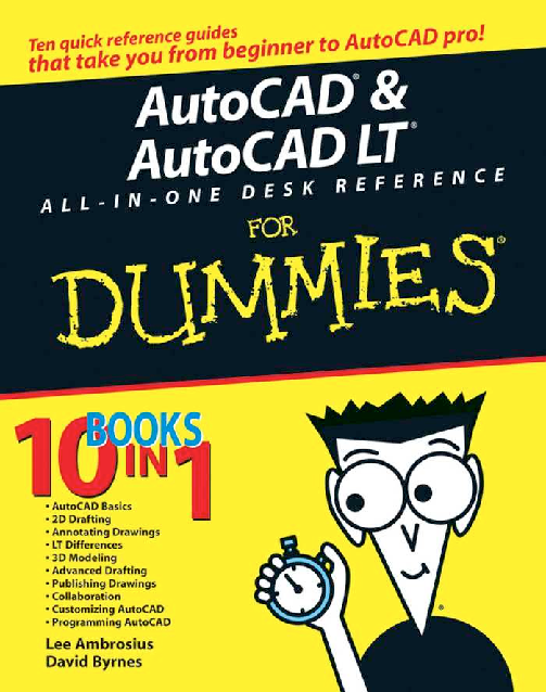PDF) Auto CAD Desk Reference for Dummies | Ruben Sandoval