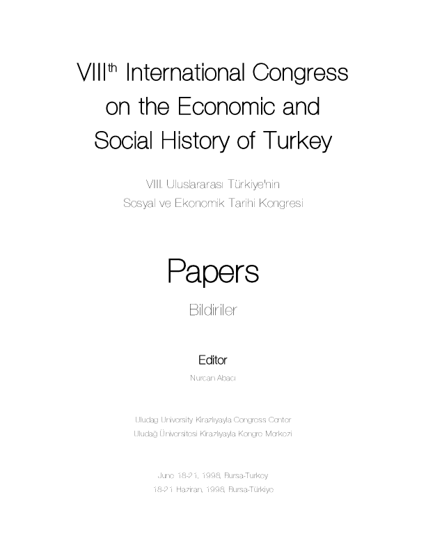Pdf Nurcan Abaci Ed Papers Of Viiith International Congress On