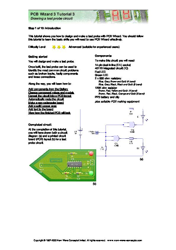PDF) Tutorial PCB Wizard 3 | irfan preaks - Academia edu