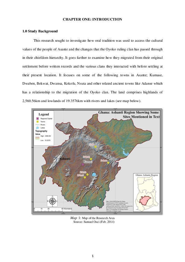Pdf Documentation And Dynamics Of Oyoko Clan Of Asante Nana Kwabena Academia Edu