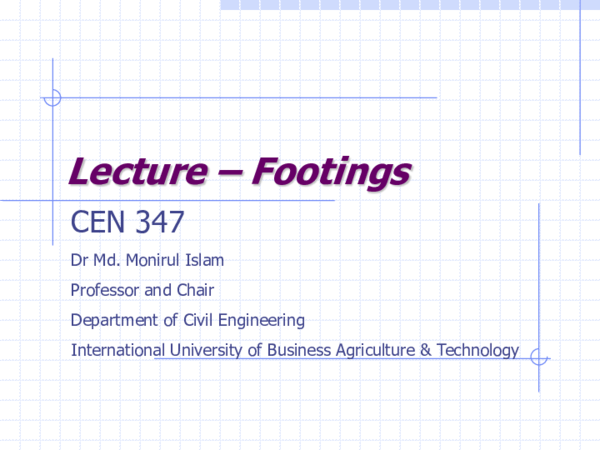 PDF) Footing Design | Monirul Islam - Academia edu