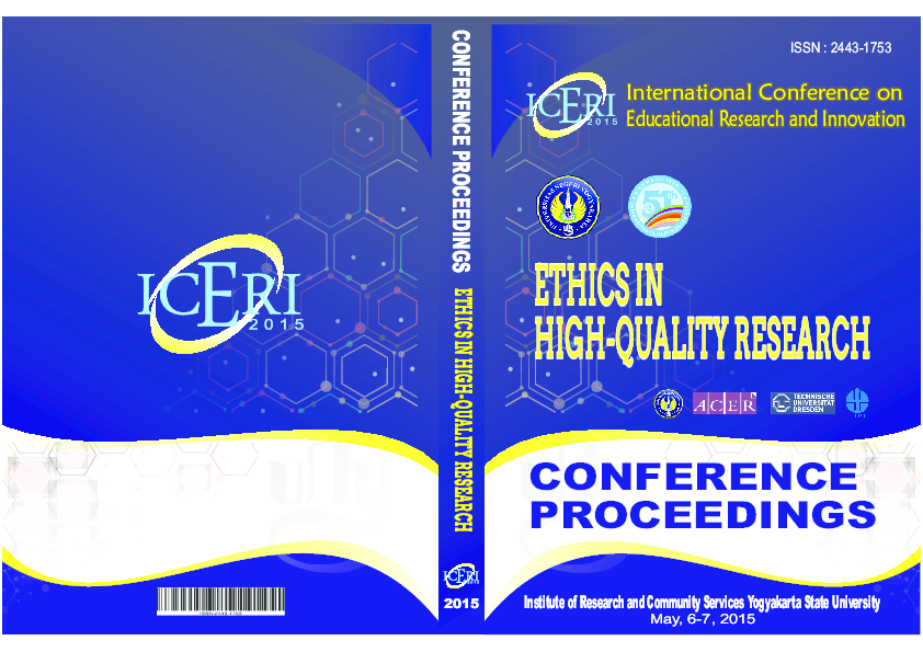 PDF) International Conference on Educational Research and Innovation