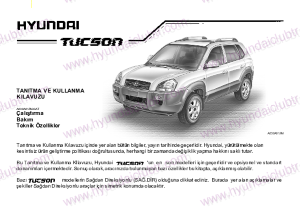 Pdf Hyundai Tucson Bahattin Deliceo Academia Edu