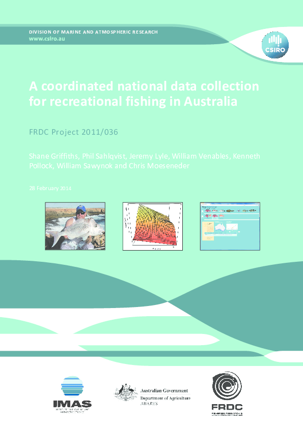 PDF) A coordinated national data collection for recreational fishing