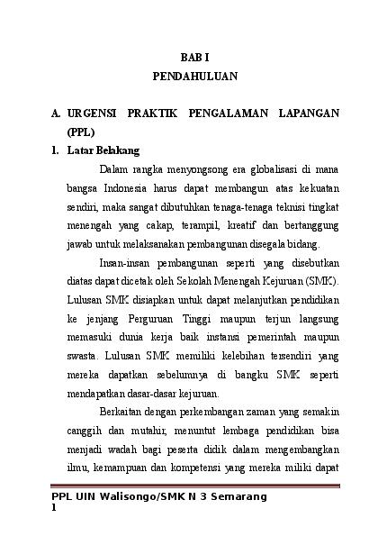 Doc Laporan Ppl Farida Istiqomah Academia Edu
