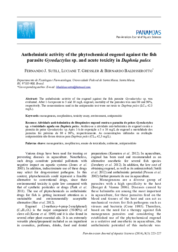 anthelmintic activity assay vaccinul papillomavirus